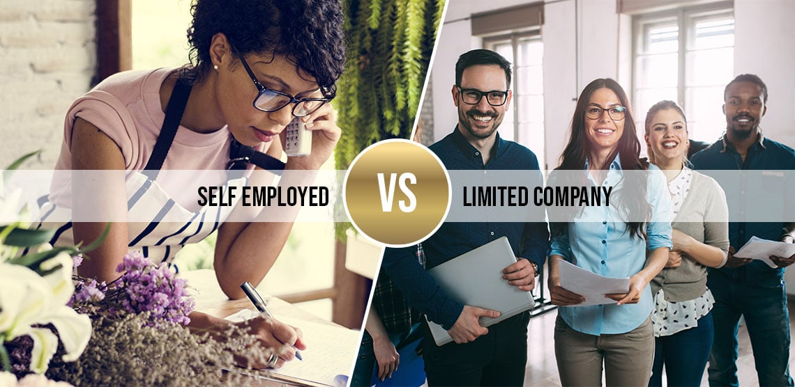 Self-Employed vs Limited Company Status – What you need to know?